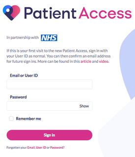 Book Appointments and Order Repeat Medication using Patient Access